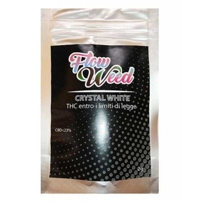 Fiori interi: Crystal White CBD<23% 2gr